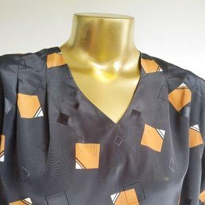 80s Vintage Shift Dress.